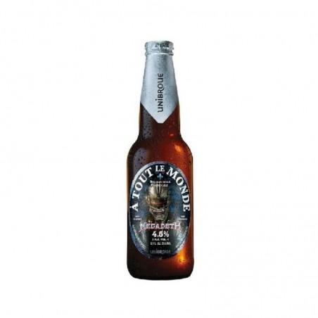 biere - UNIBROUE MEGADETH 0.341L - Planète Drinks