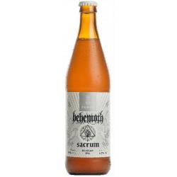 biere - BEHEMOTH SACRUM 0.50L - Planète Drinks