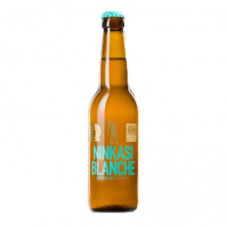 biere - NINKASI BIERE BLANCHE 0,33L 4.8% - Planète Drinks