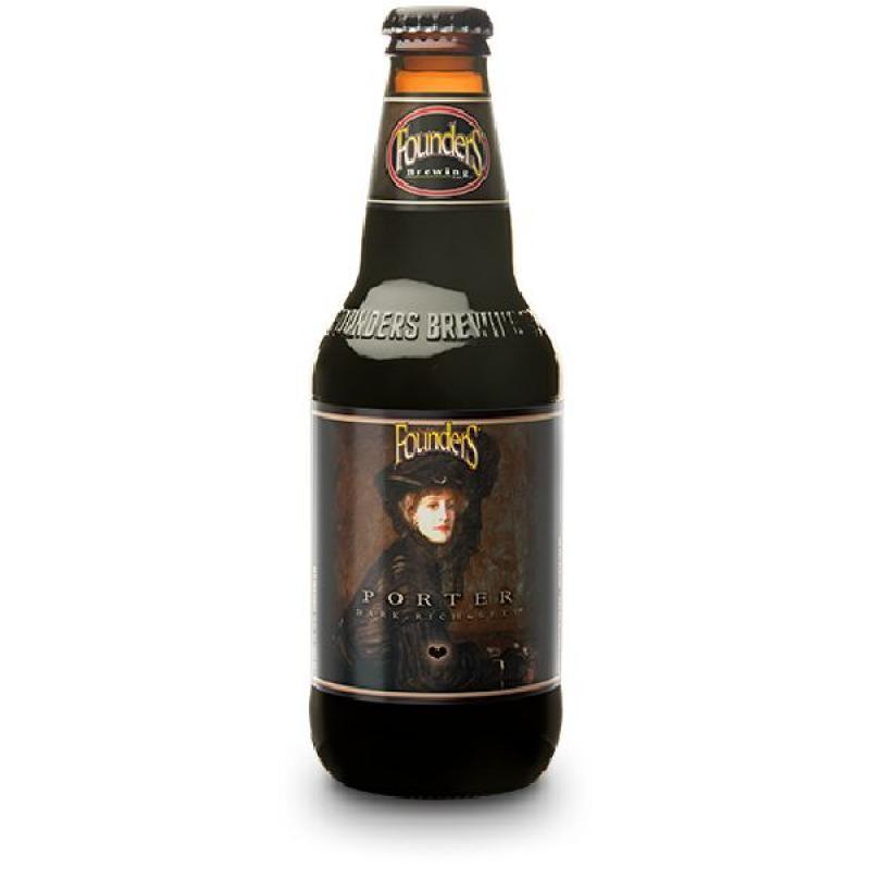 biere - FOUNDERS BREWING PORTER 0.355L - Planète Drinks