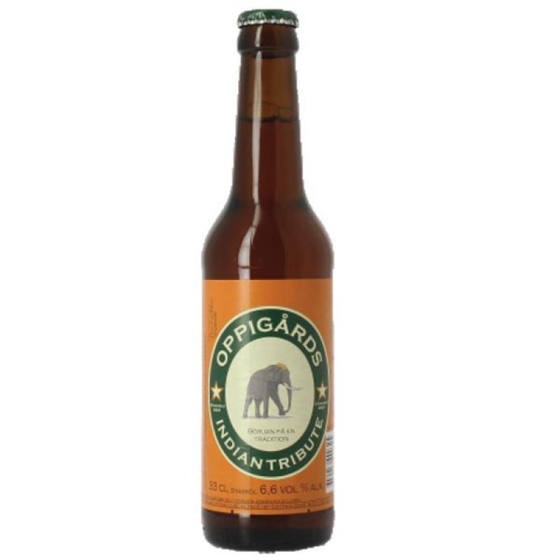 biere - OPPIGARDS BRYGGERI INDIAN TRIBUTE 0.33L - Planète Drinks