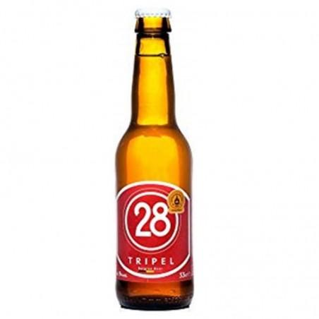 biere - CAULIER 28 TRIPLE 0.33L - Planète Drinks