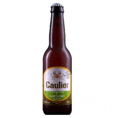 biere - CAULIER 28 GLUTEN FREE 0.33L - Planète Drinks