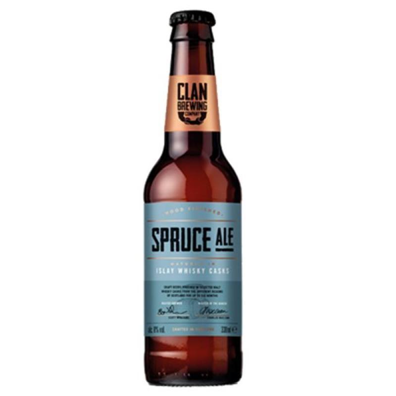 biere - CLAN BREWING SPRUCE ALE 0.33L - Planète Drinks