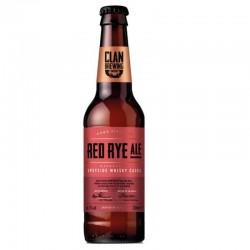 biere - CLAN BREWING RED RYE ALE 0.33L - Planète Drinks