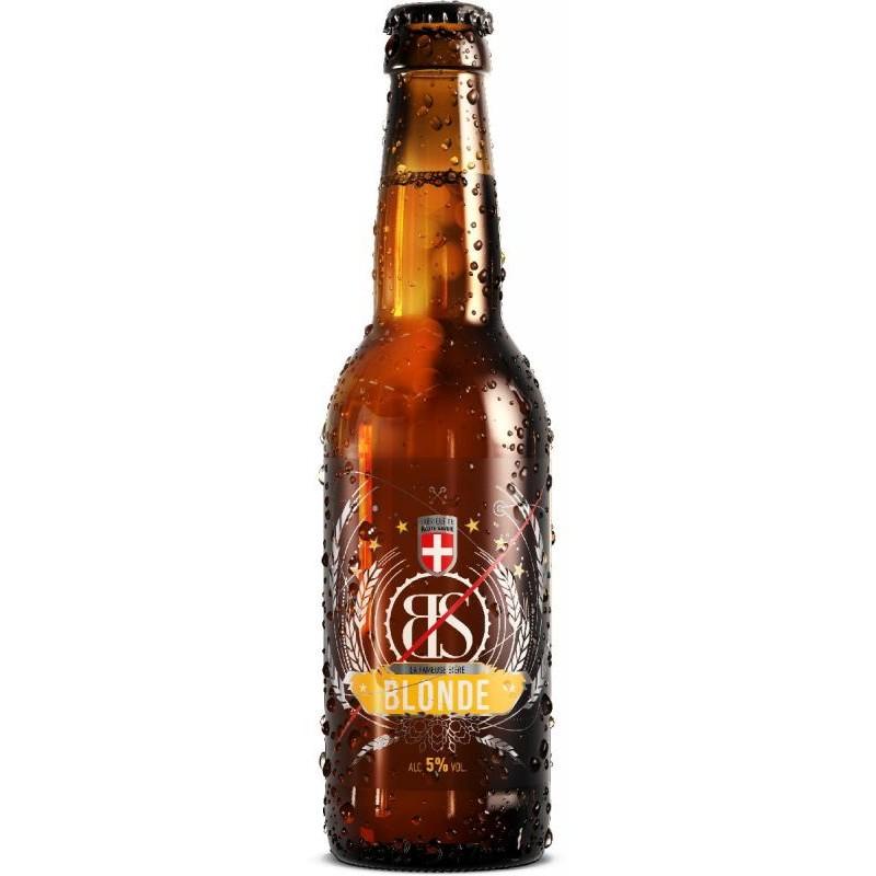 biere - BS BLONDE BIO 0.33L - CERTIFIE FR-BIO-01 - Planète Drinks