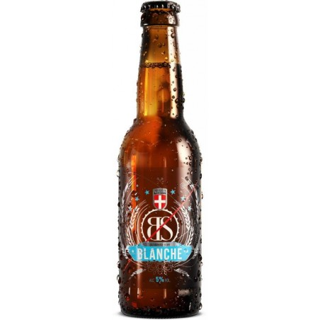biere - BS BLANCHE BIO 33CL - CERTIFIE FR-BIO-01 - Planète Drinks