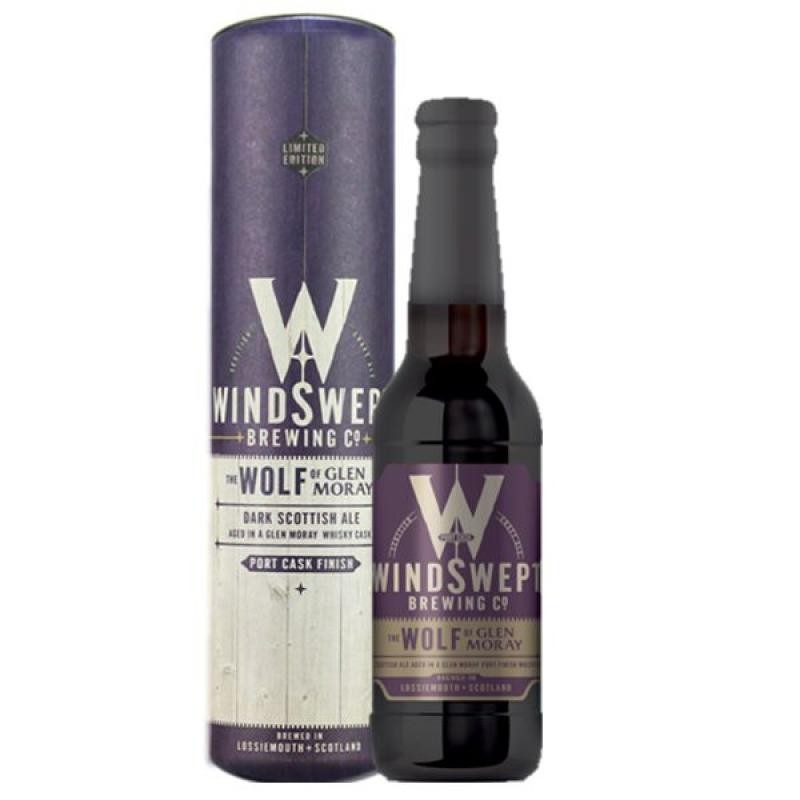 biere - WINDSWEPT WOLF GLEN MORAY PORT CASK 0.33L - Planète Drinks