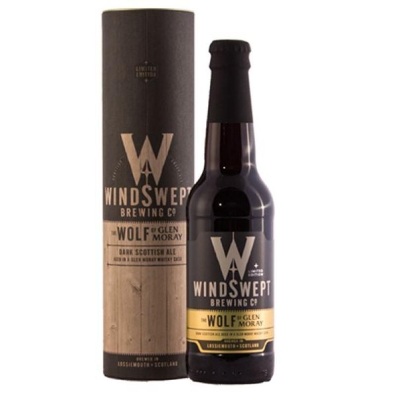 biere - WINDSWEPT WOLF GLEN MORAY CASK 0.33L - Planète Drinks