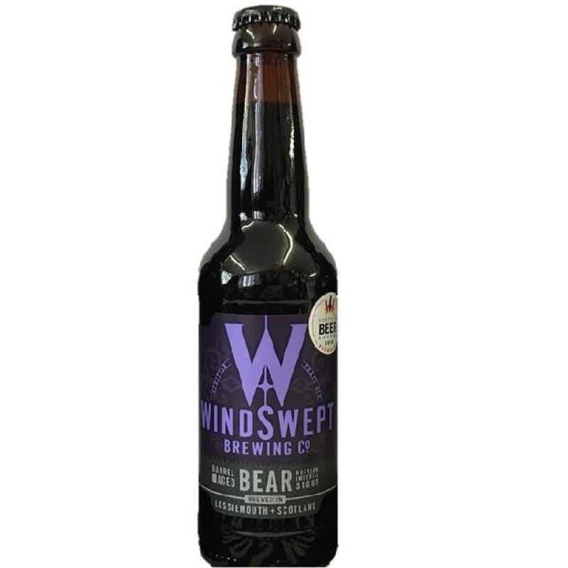 biere - WINDSWEPT BEAR RUSSIAN IMPERIAL STOUT 0.33L - Planète Drinks