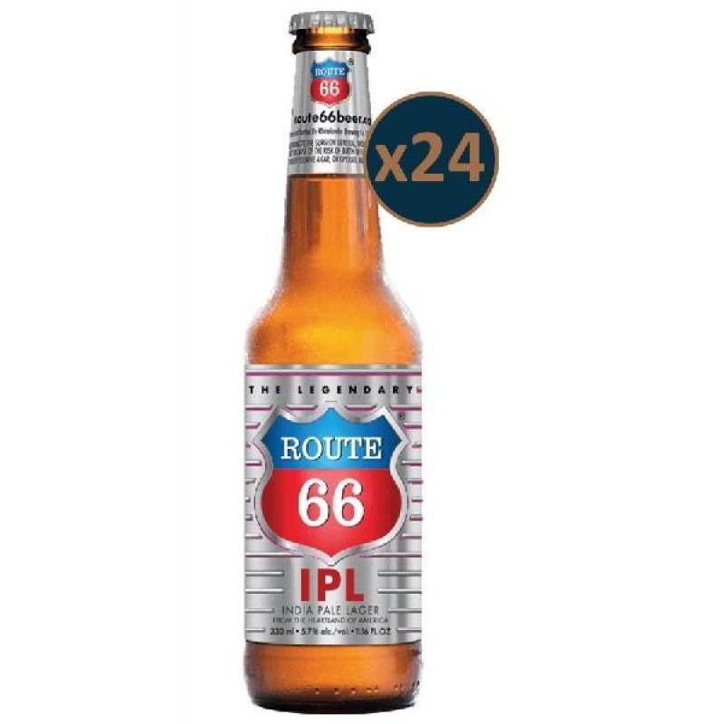 - ROUTE 66 IPA 24*33CL - Planète Drinks