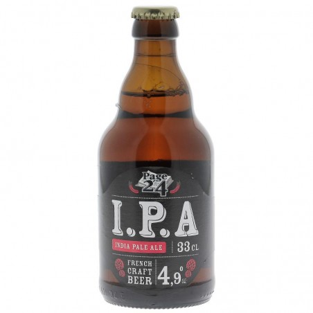 biere - PAGE 24 IPA 33CL - Planète Drinks
