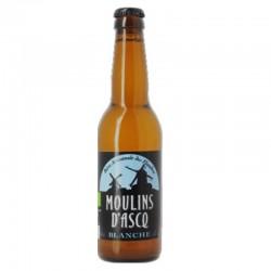 biere - MOULINS D'ASCQ BLANCHE 0.33L - CERTIFIE BIO-FR-01 - Planète Drinks