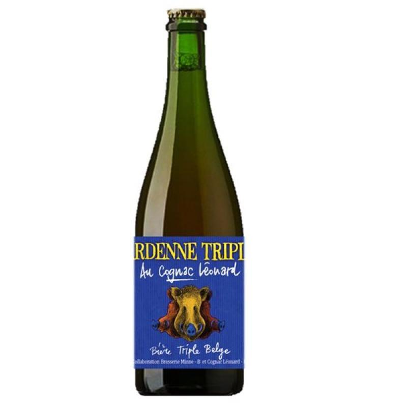 biere - WOOD TRIPLE LEONARD 0.75L - Planète Drinks