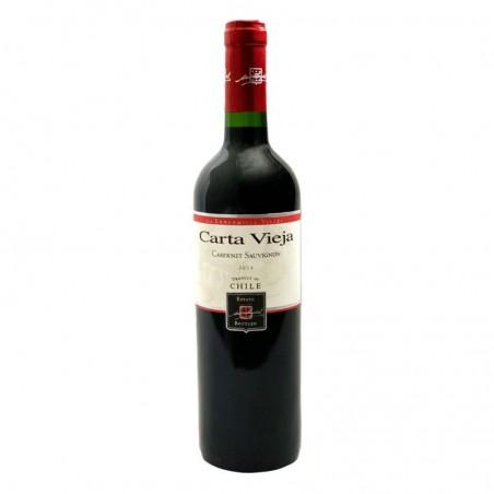 VIN - CARTA VIEJA VARIETAL CABERNET SAUVIGNON 755CL - Planète Drinks