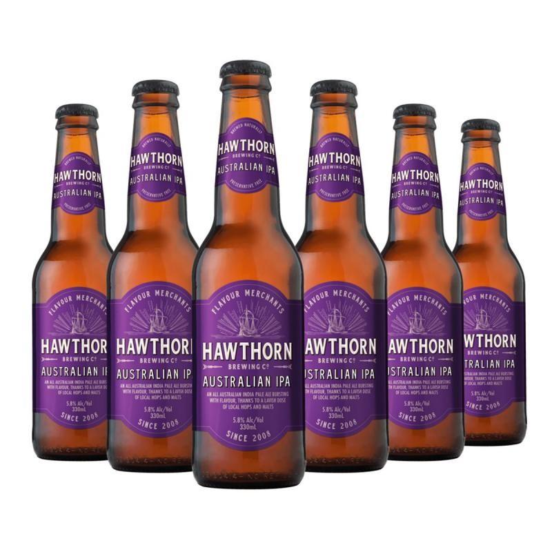 - HAWTHORN AUSTRALIAN IPA 6*33CL - Planète Drinks