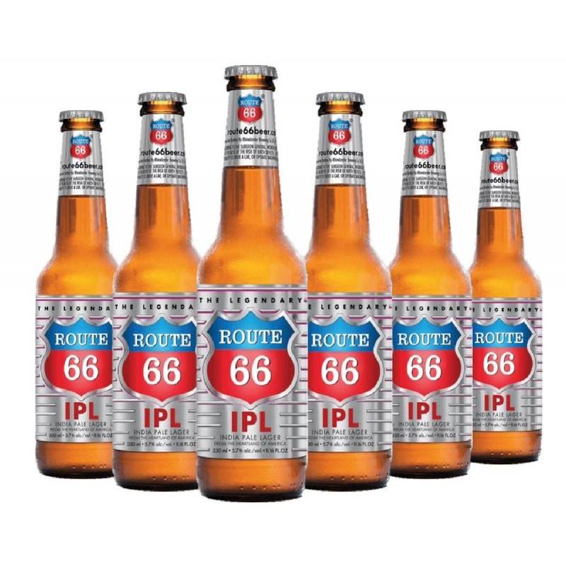 - ROUTE 66 IPA 6*33CL - Planète Drinks
