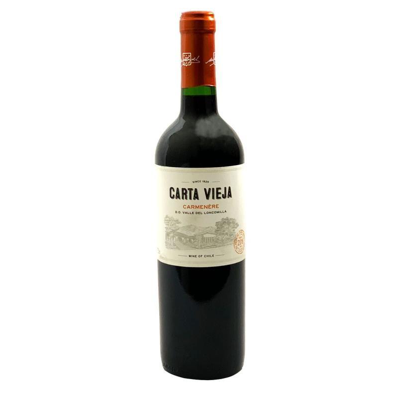 VIN - CARTA VIEJA CARMENERE CHILI 0.75L 2016 - Planète Drinks