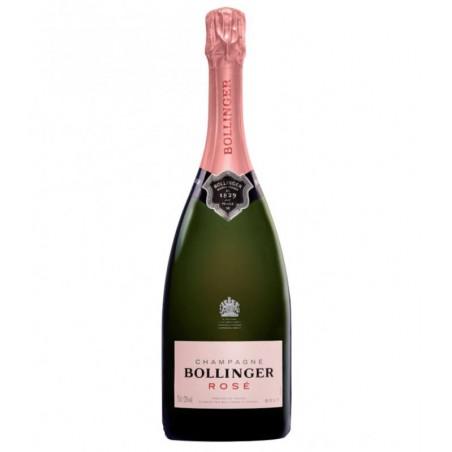 CHAMPAGNE MOUSSEUX - BOLLINGER ROSÉ 75CL SANS ETUI - Planète Drinks