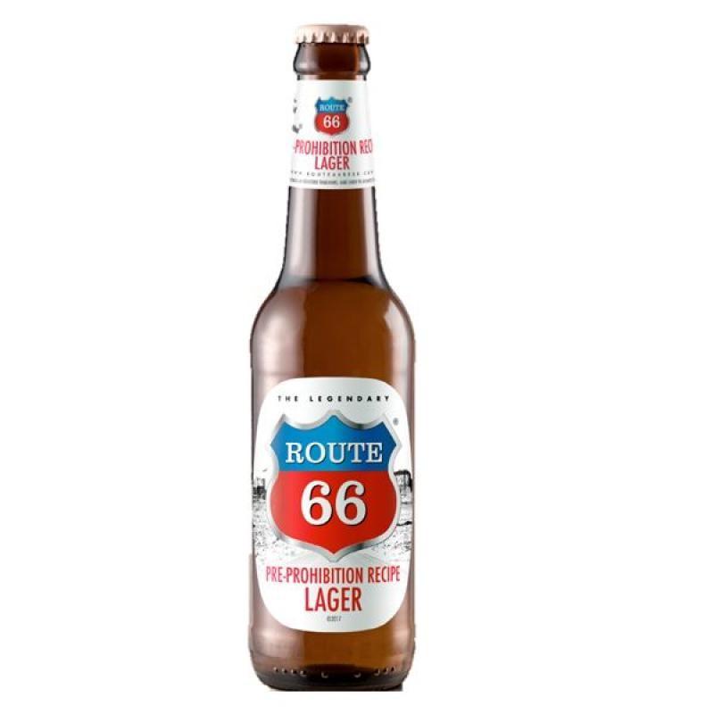 biere - ROUTE 66 PROHIBITION LAGER 0.33L - Planète Drinks