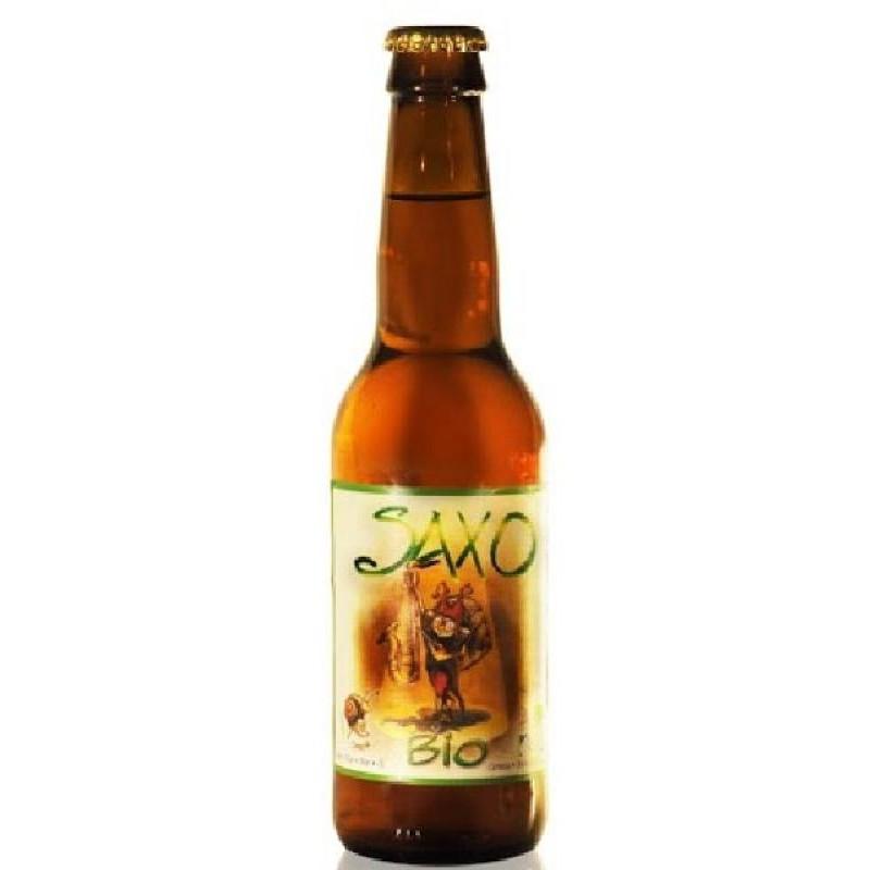biere - SAXO BIO 0.33L - CERTIFIE FR-BIO-01 - Planète Drinks