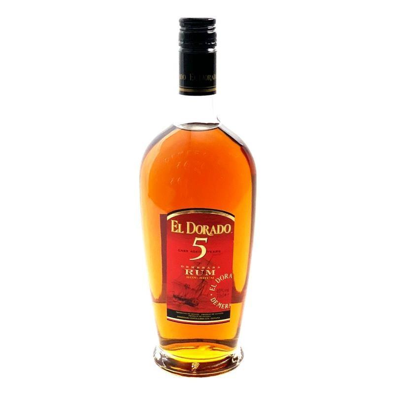 RHUM - RHUM EL DORADO 5 ANS - Planète Drinks