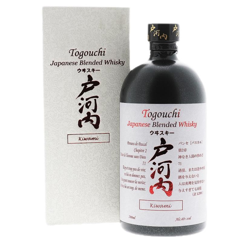 WHISKY - TOGOUCHI KIWAMI BLENDED WHISKY JAPONAIS 70CL - Planète Drinks