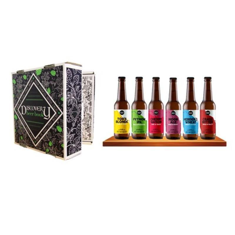 COFFRET BIERE - DISCOVERY BEER BOOK : LITTLE VALLEY (VP) - Planète Drinks