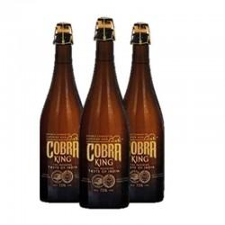 COFFRET BIERE - COFFRET 3 BOUTEILLES : KING COBRA 0.75L (VP) - Planète Drinks
