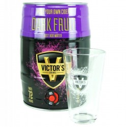 VICTOR'S DRINKS BARREL DARK...