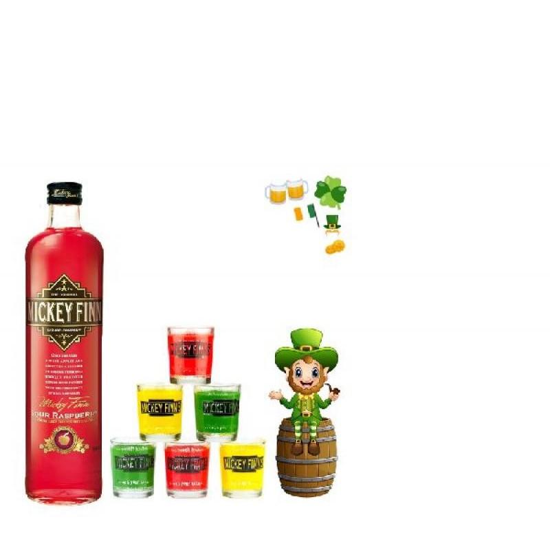 COFFRET ALCOOL - BOX MICKEY FINN'S RASPBERRY - Planète Drinks