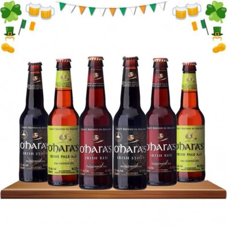 COFFRET BIERE - DISCOVERY BEER BOX : O'HARA'S - Planète Drinks