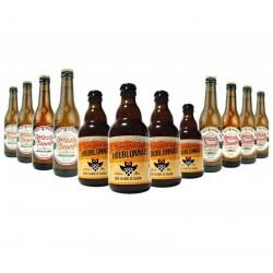 COFFRET BIERE - BOX DECOUVERTE HAUTS DE FRANCE - 12*33CL - Planète Drinks