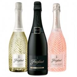 COFFRET VIN - FREIXENET KIT SOIREE BULLES :3 BTLES (CORDON NEGRO,PROSECCO,ITALIAN) - Planète Drinks