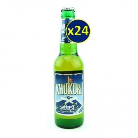 MONDE - KHUKURI BEER 24*0.33L - Planète Drinks