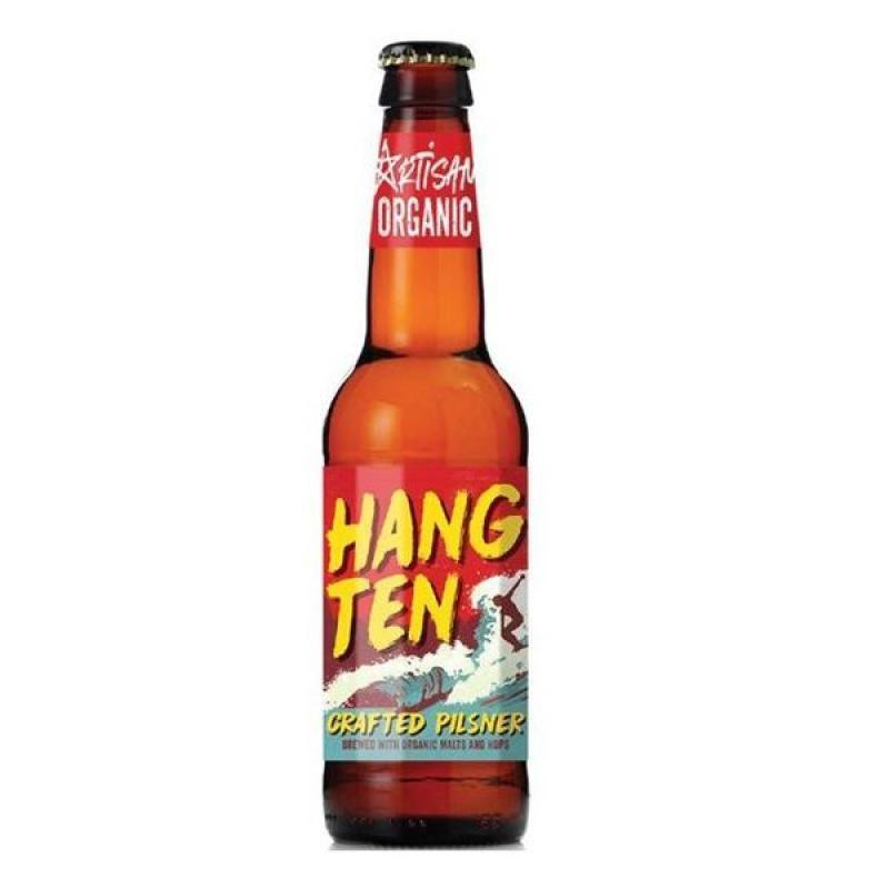 biere - ARTISAN HANG TEN 33CL - CERTIFIE FR-BIO-01 - Planète Drinks