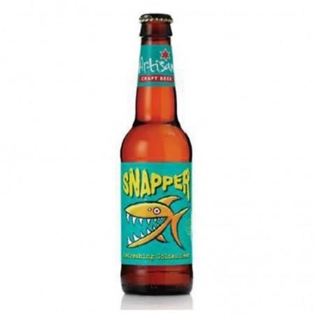 biere - ARTISAN SNAPPER 0.33L - CERTIFIE FR-BIO-01 4.8% - Planète Drinks