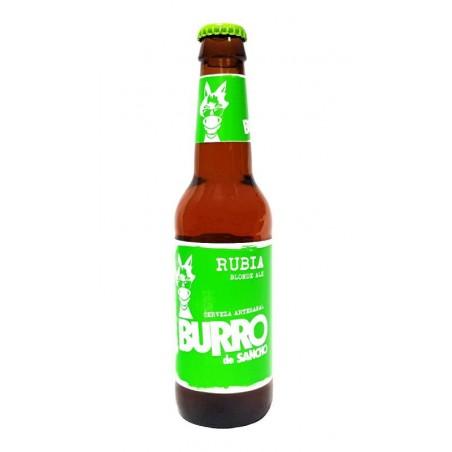 biere - BURRO DE SANCHO RUBIA 33CL - Planète Drinks