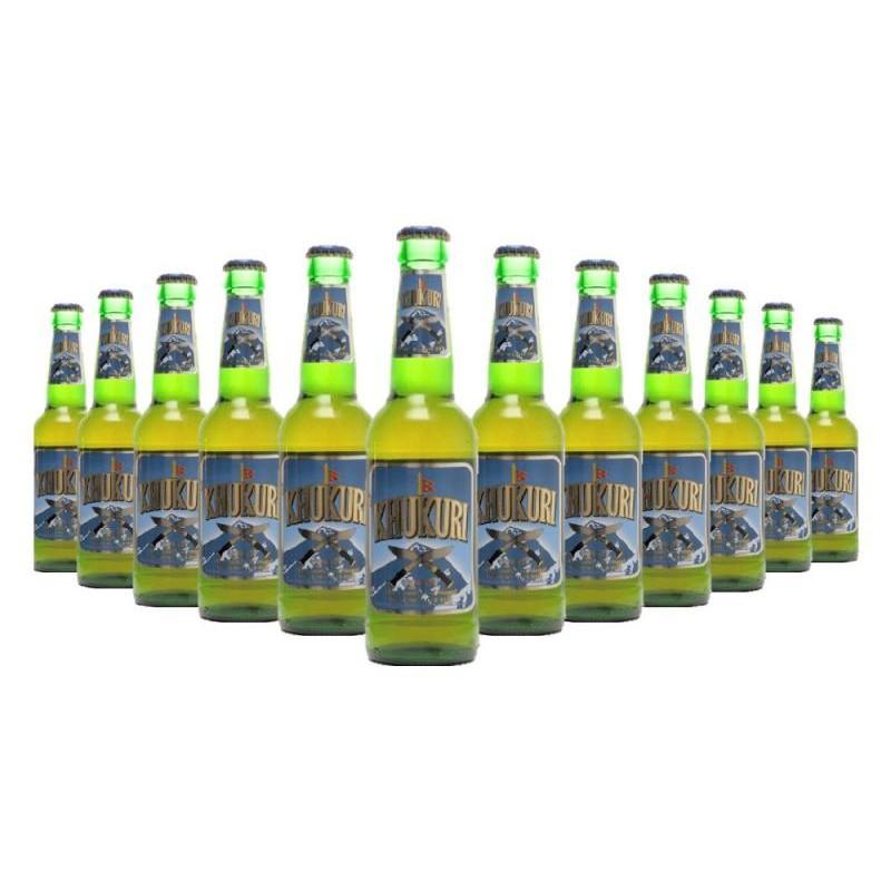 biere - KHUKURI BEER 12*33CL - Planète Drinks