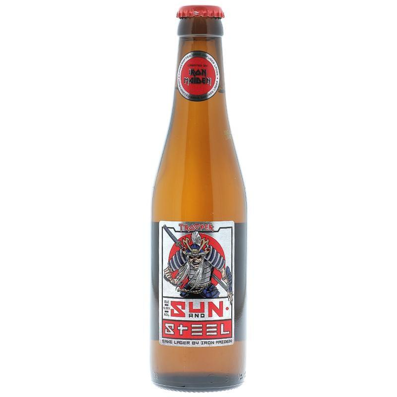 biere - ROBINSONS TROOPER SUN AND STEEL 33CL - Planète Drinks