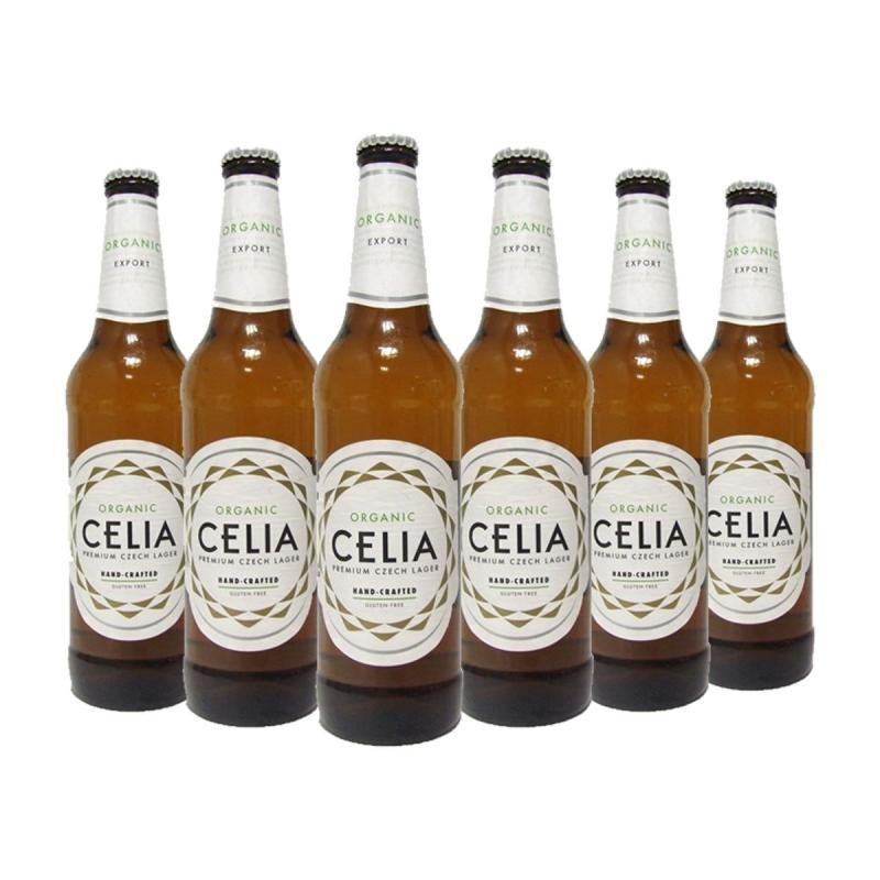 biere - CELIA ORGANIC LAGER 6*0.50L - CERTIFIE FR-BIO-01 - Planète Drinks
