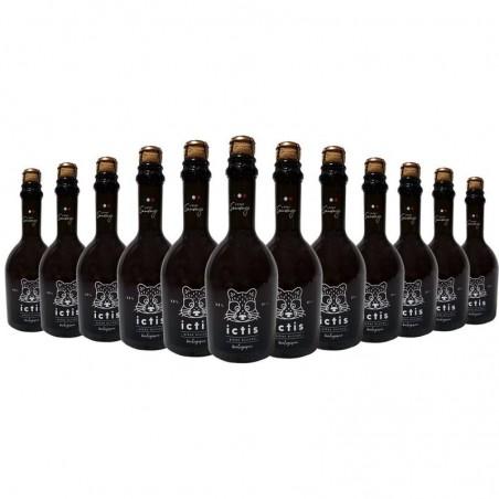 biere - ICTIS BIO 12*0.33L - CERTIFIE FR-BIO-01 - Planète Drinks