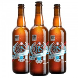 biere - BS BLANCHE BIO 3*0.75L -CERTIFIE FR-BIO-01 - Planète Drinks