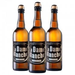 biere - DAME BLANCHE 3*0.75L - CERTIFIE FR-BIO-01 - Planète Drinks
