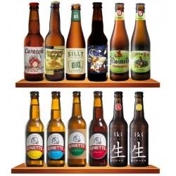 COFFRET BIERE - BOX DECOUVERTE 12 BIERES BIO BELGES - Planète Drinks