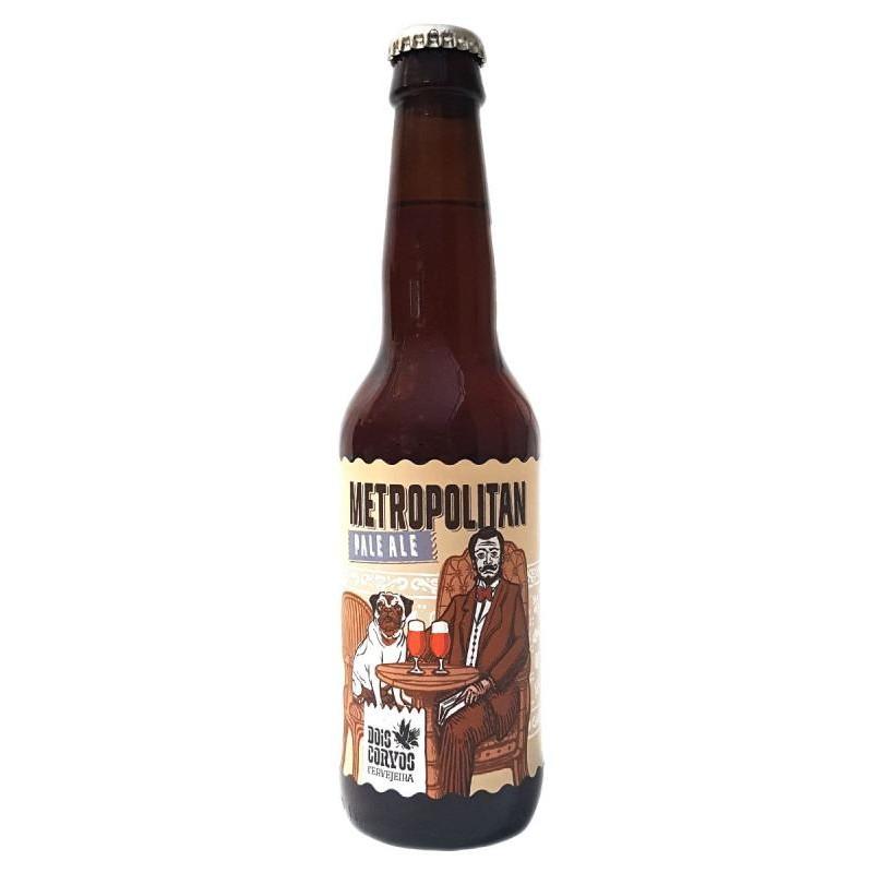 biere - DOIS CORVOS METROPOLITAN PALE ALE 0.33L - Planète Drinks