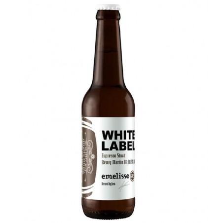 biere - EMELISSE WHITE LABEL ESPRESSO STOUT REMY MARTIN BA 2018 0.33L - Planète Drinks