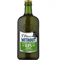 biere - ST PETER'S ORGANIC SANS ALCOOL 0.50L- CERTIFIE FR-BIO-01 - Planète Drinks