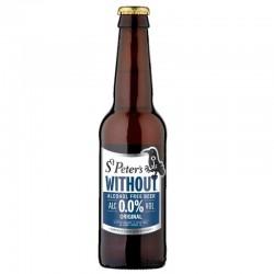 biere - ST PETER'S ORIGINAL SANS ALCOOL 0.33L - Planète Drinks