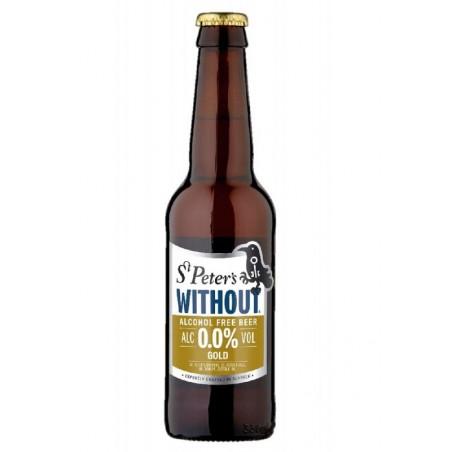 biere - ST PETER'S GOLD SANS ALCOOL 0.33L - Planète Drinks